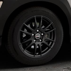 ALUTEC Monstr racing-schwarz Felge mit Reifen in 16Zoll Winterfelge Alufelge auf silbernem Hyundai Kona Typ OS ⬇️ mit 15mm Tieferlegung ⬇️ Industriehalle 1 Thumbnail