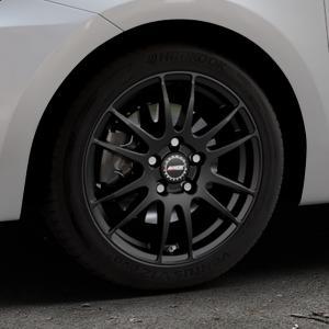 ALUTEC Monstr racing-schwarz Felge mit Reifen in 16Zoll Winterfelge Alufelge auf silbernem Suzuki Swift VI Typ AZ ⬇️ mit 15mm Tieferlegung ⬇️ Industriehalle 1 Thumbnail