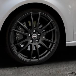 ALUTEC Monstr racing-schwarz Felge mit Reifen in 19Zoll Winterfelge Alufelge auf silbernem Audi A3 Typ 8V ⬇️ mit 15mm Tieferlegung ⬇️ Industriehalle 1 Thumbnail