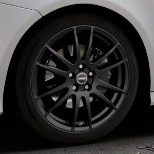 ALUTEC Monstr racing-schwarz Felge mit Reifen in 19Zoll Winterfelge Alufelge auf silbernem Audi A7 Typ 4G (Sportback) Facelift ⬇️ mit 15mm Tieferlegung ⬇️ Industriehalle 1 Thumbnail