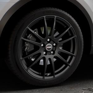 ALUTEC Monstr racing-schwarz Felge mit Reifen in 19Zoll Winterfelge Alufelge auf silbernem Audi Q3 I Typ 8U Facelift ⬇️ mit 15mm Tieferlegung ⬇️ Industriehalle 1 Thumbnail
