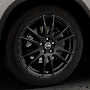 ALUTEC Monstr racing-schwarz Felge mit Reifen in 19Zoll Winterfelge Alufelge auf silbernem BMW X3 Typ G01 (G3X) ⬇️ mit 15mm Tieferlegung ⬇️ Industriehalle 1 Thumbnail