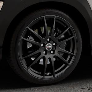 ALUTEC Monstr racing-schwarz Felge mit Reifen in 19Zoll Winterfelge Alufelge auf silbernem Hyundai Kona Typ OS ⬇️ mit 15mm Tieferlegung ⬇️ Industriehalle 1 Thumbnail