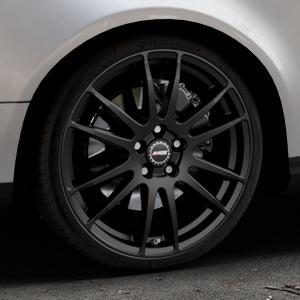 ALUTEC Monstr racing-schwarz Felge mit Reifen in 19Zoll Winterfelge Alufelge auf silbernem Volkswagen (VW) Passat 3C/B6 Variant ⬇️ mit 15mm Tieferlegung ⬇️ Industriehalle 1 Thumbnail