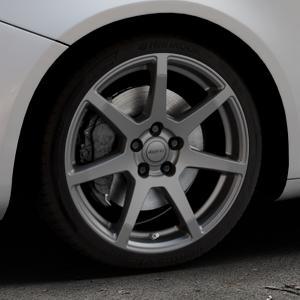ALUTEC Pearl carbon-grau Felge mit Reifen in 18Zoll Winterfelge Alufelge auf silbernem Alfa Romeo Giulietta Typ 940 ⬇️ mit 15mm Tieferlegung ⬇️ Industriehalle 1 Thumbnail