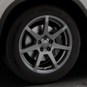 ALUTEC Pearl carbon-grau Felge mit Reifen in 18Zoll Winterfelge Alufelge auf silbernem BMW X3 Typ G01 (G3X) ⬇️ mit 15mm Tieferlegung ⬇️ Industriehalle 1 Thumbnail