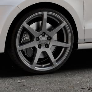 ALUTEC Pearl carbon-grau Felge mit Reifen in 18Zoll Winterfelge Alufelge auf silbernem Volkswagen (VW) Polo V Typ 6C 1,0l 44kW (60 PS) 55kW (75 1,2l TSI 66kW (90 81kW (110 1,4l TDI 77kW (105 110kW (150 70kW (95 ⬇️ mit 15mm Tieferlegung ⬇️ Industriehalle 1 Thumbnail