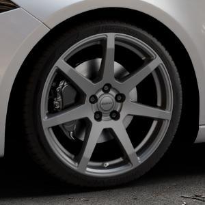 ALUTEC Pearl carbon-grau Felge mit Reifen in 19Zoll Winterfelge Alufelge auf silbernem Mercedes A-Klasse IV Typ 177 (F2A) Schrägheck ⬇️ mit 15mm Tieferlegung ⬇️ Industriehalle 1 Thumbnail