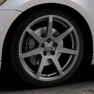 ALUTEC Pearl carbon-grau Felge mit Reifen in 19Zoll Winterfelge Alufelge auf silbernem Volkswagen (VW) Passat 3C/B8 Limousine Variant ⬇️ mit 15mm Tieferlegung ⬇️ Industriehalle 1 Thumbnail
