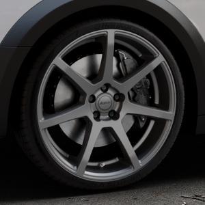 ALUTEC Pearl carbon-grau Felge mit Reifen in 20Zoll Winterfelge Alufelge auf silbernem Audi A4 Typ B9 Allroad ⬇️ mit 15mm Tieferlegung ⬇️ Industriehalle 1 Thumbnail