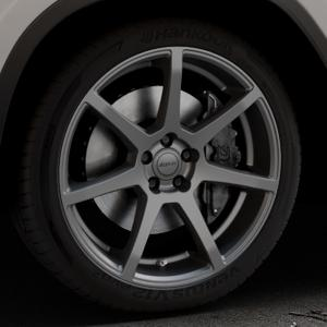 ALUTEC Pearl carbon-grau Felge mit Reifen in 20Zoll Winterfelge Alufelge auf silbernem BMW X3 Typ G01 (G3X) ⬇️ mit 15mm Tieferlegung ⬇️ Industriehalle 1 Thumbnail