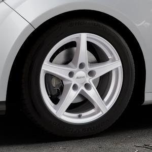 ALUTEC Raptr polar-silber Felge mit Reifen in 16Zoll Winterfelge Alufelge auf silbernem Ford Focus III Typ DYB (Schrägheck) (Stufenheck) Facelift ⬇️ mit 15mm Tieferlegung ⬇️ Industriehalle 1 Thumbnail