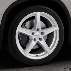ALUTEC Raptr polar-silber Felge mit Reifen in 18Zoll Winterfelge Alufelge auf silbernem BMW X2 Typ F39 (F2X) ⬇️ mit 15mm Tieferlegung ⬇️ Industriehalle 1 Thumbnail