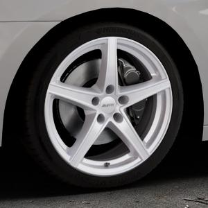 ALUTEC Raptr polar-silber Felge mit Reifen in 18Zoll Winterfelge Alufelge auf silbernem Hyundai i40 Typ VF Limousine Kombi Facelift ⬇️ mit 15mm Tieferlegung ⬇️ Industriehalle 1 Thumbnail