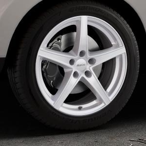 ALUTEC Raptr polar-silber Felge mit Reifen in 18Zoll Winterfelge Alufelge auf silbernem Hyundai ix35 Typ EL ELH LM LMFC ⬇️ mit 15mm Tieferlegung ⬇️ Industriehalle 1 Thumbnail