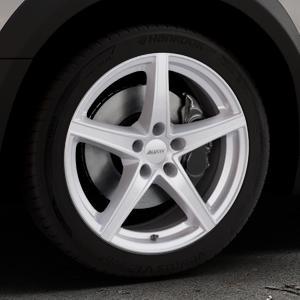 ALUTEC Raptr polar-silber Felge mit Reifen in 18Zoll Winterfelge Alufelge auf silbernem Peugeot 508 Typ 8 RXH Facelift ⬇️ mit 15mm Tieferlegung ⬇️ Industriehalle 1 Thumbnail