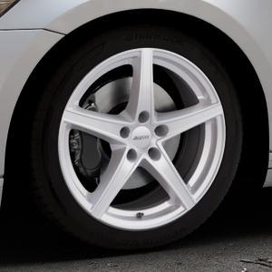 ALUTEC Raptr polar-silber Felge mit Reifen in 18Zoll Winterfelge Alufelge auf silbernem Volkswagen (VW) Passat 3C/B8 Limousine Variant ⬇️ mit 15mm Tieferlegung ⬇️ Industriehalle 1 Thumbnail