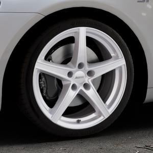 ALUTEC Raptr polar-silber Felge mit Reifen in 18Zoll Winterfelge Alufelge auf silbernem Volkswagen (VW) Scirocco III Typ 13 ⬇️ mit 15mm Tieferlegung ⬇️ Industriehalle 1 Thumbnail