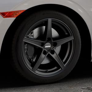 ALUTEC Raptr racing-schwarz Felge mit Reifen in 17Zoll Winterfelge Alufelge auf silbernem Honda Civic 10 Schrägheck (FC) ⬇️ mit 15mm Tieferlegung ⬇️ Industriehalle 1 Thumbnail