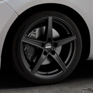 ALUTEC Raptr racing-schwarz Felge mit Reifen in 18Zoll Winterfelge Alufelge auf silbernem Ford Mondeo IV Limousine Typ BA7 Turnier Fließheck ⬇️ mit 15mm Tieferlegung ⬇️ Industriehalle 1 Thumbnail