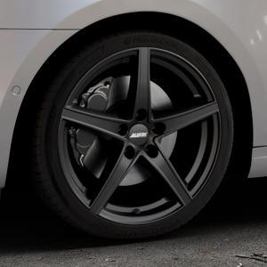 ALUTEC Raptr racing-schwarz Felge mit Reifen in 18Zoll Winterfelge Alufelge auf silbernem Skoda Octavia III Kombi Typ 5E Facelift ⬇️ mit 15mm Tieferlegung ⬇️ Industriehalle 1 Thumbnail