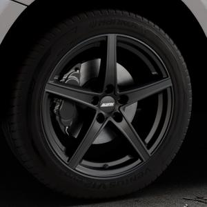 ALUTEC Raptr racing-schwarz Felge mit Reifen in 19Zoll Winterfelge Alufelge auf silbernem Audi Q5 I Typ 8R ⬇️ mit 15mm Tieferlegung ⬇️ Industriehalle 1 Thumbnail