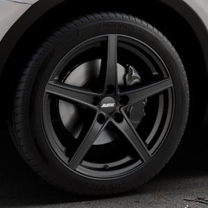 ALUTEC Raptr racing-schwarz Felge mit Reifen in 19Zoll Winterfelge Alufelge auf silbernem BMW X3 Typ F25 (X3, X-N1) ⬇️ mit 15mm Tieferlegung ⬇️ Industriehalle 1 Thumbnail
