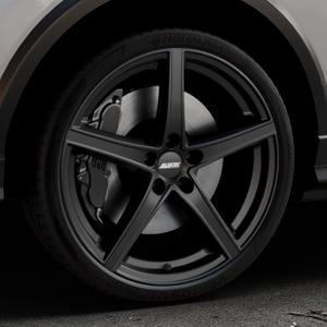 ALUTEC Raptr racing-schwarz Felge mit Reifen in 20Zoll Winterfelge Alufelge auf silbernem Audi Q2 Typ GA ⬇️ mit 15mm Tieferlegung ⬇️ Industriehalle 1 Thumbnail