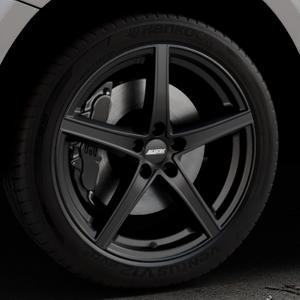 ALUTEC Raptr racing-schwarz Felge mit Reifen in 20Zoll Winterfelge Alufelge auf silbernem Audi Q5 I Typ 8R ⬇️ mit 15mm Tieferlegung ⬇️ Industriehalle 1 Thumbnail