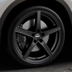ALUTEC Raptr racing-schwarz Felge mit Reifen in 20Zoll Winterfelge Alufelge auf silbernem BMW X1 Typ F48 (UKL-L) (F1X) ⬇️ mit 15mm Tieferlegung ⬇️ Industriehalle 1 Thumbnail