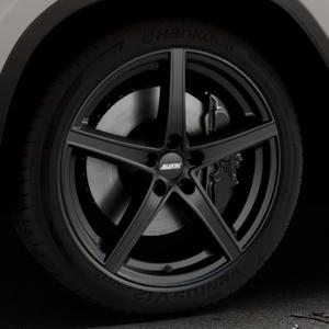 ALUTEC Raptr racing-schwarz Felge mit Reifen in 20Zoll Winterfelge Alufelge auf silbernem BMW X3 Typ G01 (G3X) ⬇️ mit 15mm Tieferlegung ⬇️ Industriehalle 1 Thumbnail