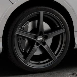ALUTEC Raptr racing-schwarz Felge mit Reifen in 20Zoll Winterfelge Alufelge auf silbernem Ford Kuga II Facelift (15->) (17->) ⬇️ mit 15mm Tieferlegung ⬇️ Industriehalle 1 Thumbnail
