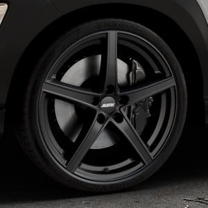 ALUTEC Raptr racing-schwarz Felge mit Reifen in 20Zoll Winterfelge Alufelge auf silbernem Hyundai Kona Typ OS ⬇️ mit 15mm Tieferlegung ⬇️ Industriehalle 1 Thumbnail