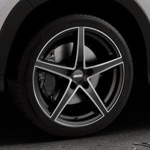 ALUTEC Raptr racing-schwarz frontpoliert Felge mit Reifen silber mehrfarbig in 18Zoll Alufelge auf silbernem Honda HR-V II (RU) ⬇️ mit 15mm Tieferlegung ⬇️ Industriehalle 1 Thumbnail