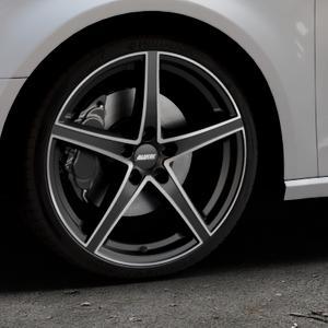 ALUTEC Raptr racing-schwarz frontpoliert Felge mit Reifen silber mehrfarbig in 19Zoll Alufelge auf silbernem Audi A3 Typ 8V ⬇️ mit 15mm Tieferlegung ⬇️ Industriehalle 1 Thumbnail