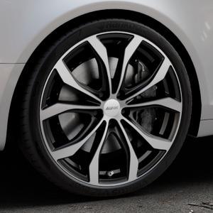 ALUTEC W10X racing-schwarz frontpoliert Felge mit Reifen silber mehrfarbig in 20Zoll Alufelge auf silbernem Audi A6 Typ 4F/C6 (Avant) ⬇️ mit 15mm Tieferlegung ⬇️ Industriehalle 1 Thumbnail