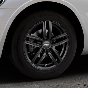 ATS Antares diamant-schwarz Felge mit Reifen in 15Zoll Winterfelge Alufelge auf silbernem Chrysler PT Cruiser Cabriolet ⬇️ mit 15mm Tieferlegung ⬇️ Industriehalle 1 Thumbnail