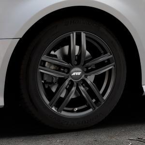 ATS Antares diamant-schwarz Felge mit Reifen in 16Zoll Winterfelge Alufelge auf silbernem Audi A3 Typ 8V Facelift ⬇️ mit 15mm Tieferlegung ⬇️ Industriehalle 1 Thumbnail