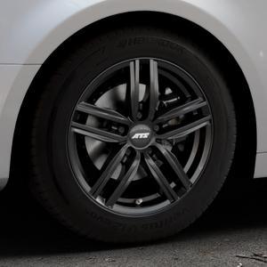 ATS Antares diamant-schwarz Felge mit Reifen in 16Zoll Winterfelge Alufelge auf silbernem Audi A4 Typ B9 (Limousine) ⬇️ mit 15mm Tieferlegung ⬇️ Industriehalle 1 Thumbnail