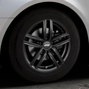 ATS Antares diamant-schwarz Felge mit Reifen in 16Zoll Winterfelge Alufelge auf silbernem Audi A6 Typ 4G/C7 (Avant) Facelift ⬇️ mit 15mm Tieferlegung ⬇️ Industriehalle 1 Thumbnail