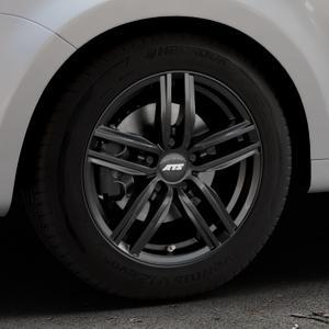ATS Antares diamant-schwarz Felge mit Reifen in 16Zoll Winterfelge Alufelge auf silbernem Seat Alhambra II Typ 7N Facelift ⬇️ mit 15mm Tieferlegung ⬇️ Industriehalle 1 Thumbnail