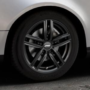 ATS Antares diamant-schwarz Felge mit Reifen in 16Zoll Winterfelge Alufelge auf silbernem Volkswagen (VW) Passat 3C/B6 Variant ⬇️ mit 15mm Tieferlegung ⬇️ Industriehalle 1 Thumbnail