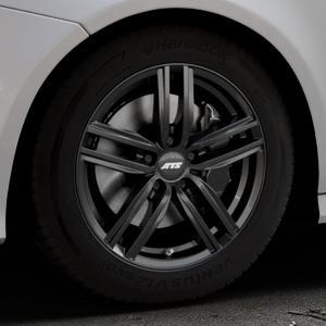ATS Antares diamant-schwarz Felge mit Reifen in 17Zoll Winterfelge Alufelge auf silbernem Audi A7 Typ 4G (Sportback) Facelift ⬇️ mit 15mm Tieferlegung ⬇️ Industriehalle 1 Thumbnail