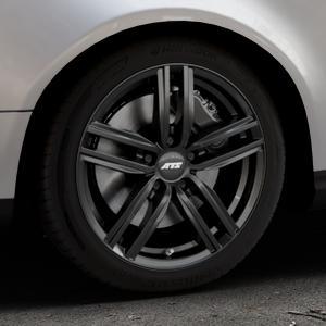 ATS Antares diamant-schwarz Felge mit Reifen in 17Zoll Winterfelge Alufelge auf silbernem Volkswagen (VW) Passat 3C/B6 Variant ⬇️ mit 15mm Tieferlegung ⬇️ Industriehalle 1 Thumbnail