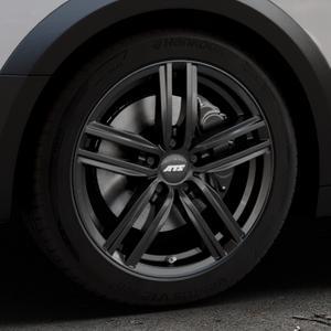 ATS Antares diamant-schwarz Felge mit Reifen in 18Zoll Winterfelge Alufelge auf silbernem Audi A4 Typ B9 Allroad ⬇️ mit 15mm Tieferlegung ⬇️ Industriehalle 1 Thumbnail