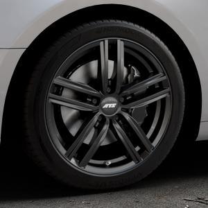 ATS Antares diamant-schwarz Felge mit Reifen in 18Zoll Winterfelge Alufelge auf silbernem Audi A5 Typ B9 (Coupé) (Cabriolet) ⬇️ mit 15mm Tieferlegung ⬇️ Industriehalle 1 Thumbnail