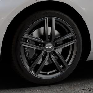 ATS Antares diamant-schwarz Felge mit Reifen in 18Zoll Winterfelge Alufelge auf silbernem BMW 214d Typ F2AT (F45 Active Tourer) 216d 216i 218d 218i 220d xDrive 220i 225i 225xe ⬇️ mit 15mm Tieferlegung ⬇️ Industriehalle 1 Thumbnail