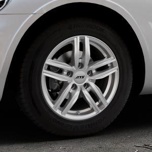 ATS Antares polar-silber Felge mit Reifen in 15Zoll Winterfelge Alufelge auf silbernem Chrysler PT Cruiser Cabriolet ⬇️ mit 15mm Tieferlegung ⬇️ Industriehalle 1 Thumbnail