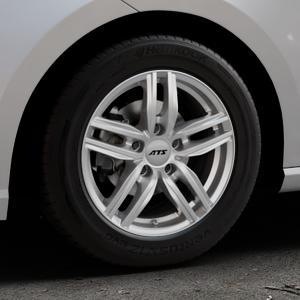 ATS Antares polar-silber Felge mit Reifen in 15Zoll Winterfelge Alufelge auf silbernem Seat Ibiza V Typ KJ ⬇️ mit 15mm Tieferlegung ⬇️ Industriehalle 1 Thumbnail