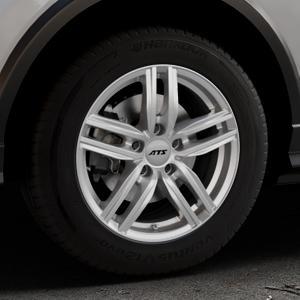 ATS Antares polar-silber Felge mit Reifen in 16Zoll Winterfelge Alufelge auf silbernem Audi Q2 Typ GA ⬇️ mit 15mm Tieferlegung ⬇️ Industriehalle 1 Thumbnail